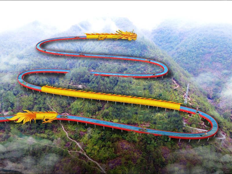 大齐旅游——浙江省缙云高山漂流水滑道项目总长2800米创世界纪录,敢去挑战吗?
