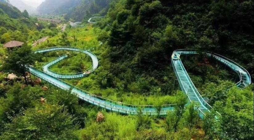 重庆美心红酒小镇高空玻璃漂流落成开业仪式举行