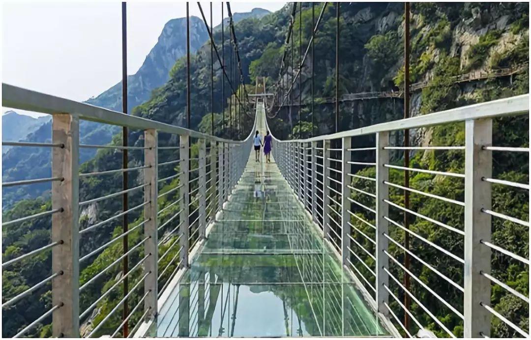 景区玻璃吊桥如何施工搭建的你知道么?
