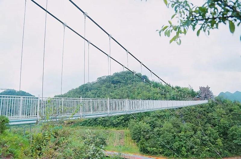 玻璃吊桥安全防范事项-大圣旅游建设